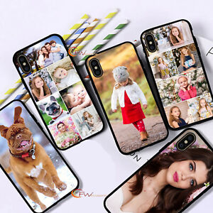 Personalised Custom Photo Phone Case Cover For iPhone 12 11 8 7 MAX XR X XS SE