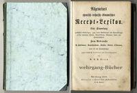 Percy: Allgemeines chemisch-technisch-ökonomisches Recept-Lexikon, 1856.