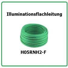 Illuminationsflacheitung H05RNH2-F 2x1,5  100m Illu Kabel, Illuminations Leitung