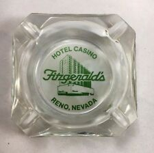 Vintage Ashtray Fitzgeralds Casino Hotel Reno promotional materials 1950s B9
