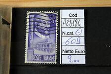 FRANCOBOLLI ITALIA REPUBBLICA USATI N. 609 (A28184)