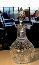 Original STUART Crystal Decanter - Wine or Whiskey carafe Bar - Antique Rare