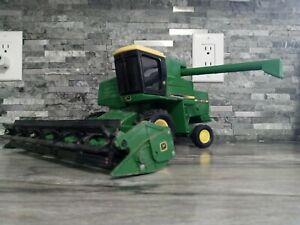 Vintage John Deere Turbo Combine 1/16 Scale ERTL Metal Farm Toy