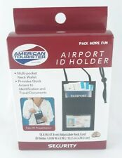 American Tourister Airport ID Holder Multi Pocket Neck Wallet