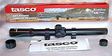 Tasco 4 X 15mm .22 Rifle or Air Gun Scope & Rings RF4X15
