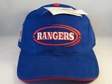 NHL New York Rangers Vintage Strapback Hat Cap Blue