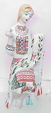 1980 RUSSIAN SOVIET UKRAINE PORCELAIN FIGURINE USSR ENAMEL IMPERIAL CERAMIC GIRL