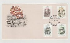 Australia Post The Gold Rush Era First Day Cover 20/05/1981 Clermont Qld Mint