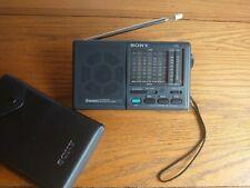 Sony ICF-SW15 Portable 9 Band SW/MW/FM Stereo Receiver Shortwave Radio Japan