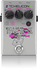 New TC-Helicon TalkBox Synth Vocal Correction Reverb Effects Pedal!!