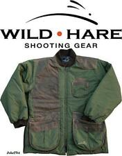 Wild Hare Cold Weather Coat - Olive w/ Brown Leather 2Xl # Wh-480L-Ov-Rh-2Xl