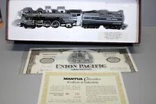 Mantua US Steam Locomotive Grey Goose Union Pacific Gauge H0 Boxed