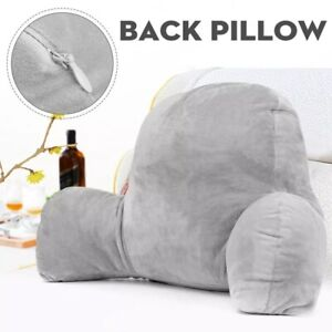 Soft Reading Pillow Back Rest Lumbar Support Arm Seat Cushion Lounger Relax New