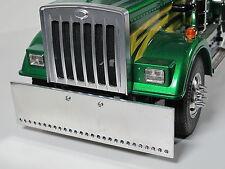 Aluminum Astyle Front Bumper + Front Hood Grill Tamiya R/C 1/14 Semi King Hauler