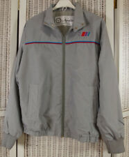 "APOLLO RACE & RALLY WEAR Vintage 1970s Racing Jacket S 43"" Chest Steel Grey"