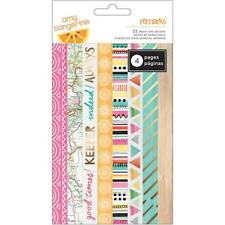 Amy Tangerine Rise and Shine 48 Piece Washi Tape by American Crafts