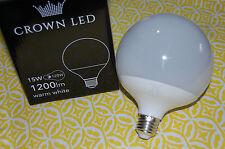 Hochwertige LED Kugelbirne 1200lm Warm Weiß E27 - 15W = 120Watt