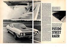 1971 FORD TORINO COBRA JET 429/370-HP  ~  ORIGINAL 3-PAGE ARTICLE / AD
