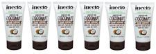 6x Inecto Naturals Smooth Me Organic Coconut HAIR SERUM 50ml