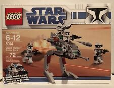 LEGO 8014 Star Wars Clone Walker Battle Pack New & Sealed Retired 72 Pieces