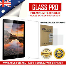 Tempered Glass Screen Protector For Apple iPad Air 1 2 Mini 5th 6th Gen Pro 12.9