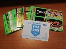 Calciatori Fifa 365 2020 lotto 90 figurine diverse BACK BLUE