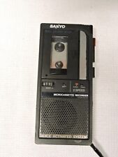 Sanyo M5495 Micro-Cassette Dication Recorder