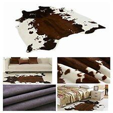 Cow Zebra Hide Giraffe Deer Cow Rug Leopard Mat Rug Animal Printed Home Carpet