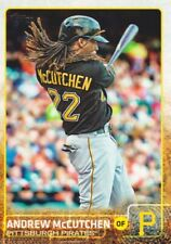2015 Topps Baseball #400 Andrew McCutchen Pittsburgh Pirates