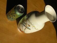 """Large Vintage Japan Japanese Fine Bone China Vase by Jay Birds Flowers 10.25"""""""