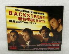 Backstreet Boys This Is Us 2009 Taiwan Ltd CD+DVD w/BOX