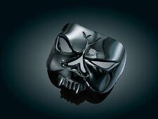 Harley Softail Sportster Negro Zombie cráneo posterior/Luz De La Cola Cubierta Kuryakyn 9024