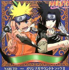 New 0161 NARUTO Original Soundtrack Vol. II 2 Music CD Japan