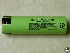 1 PANASONIC NCR 18650 PF HIGH DRAIN 10A Hybrid IMR Li-on 18650 Battery 2900mAh