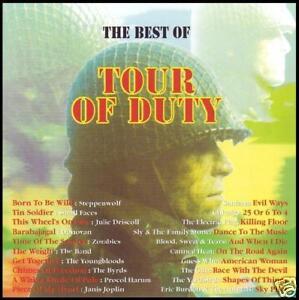 TOUR OF DUTY CD 60's YARDBIRDS~BYRDS~STEPPENWOLF~DONOVAN~ZOMBIES (VIETNAM) *NEW*