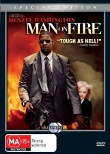 Man On Fire (DVD, 2005, 2-Disc Set)Denzel Washington*R4*Terrific Condition