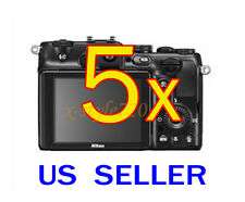 5x Nikon Coolpix P710 Coolpix P7100 Camera LCD Screen Protector Guard Film