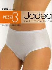 3 Slip Donna Jadea Midi in cotone elasticcizzato Art 7002 4 Nero