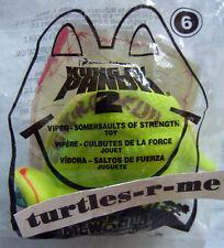 MIP McDonald's 2011 Kung Fu Panda 2 Somersaults of Strength VIPER Snake Toy #6