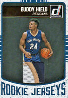 2016-17 Panini Donruss Rookie Jerseys tri color gold #5 Buddy Hield 14/25