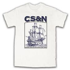 Crosby Stills Nash T Shirt Yellow Ebay