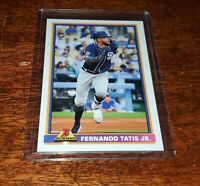 Fernando Tatis Jr 2020 Topps Throwback Thursday #TBT #23 PRINT RUN /474 PADRES!