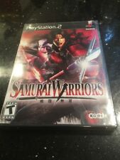 Samurai Warriors PlayStation 2 Sony PS2 Brand New Factory Sealed