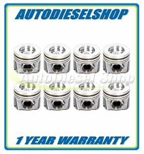04-10 FORD 6.0 6.0L POWERSTROKE DIESEL ENGINETECH PISTONS WITH RINGS SET OF 8