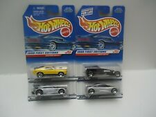 1998 Hot Wheels First Edition FE Lot of 4 Cars #29 #30 #31 #32