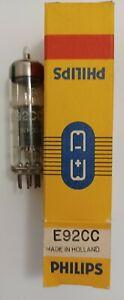 E92CC NOS vacuum tube Philips Holland dual triode