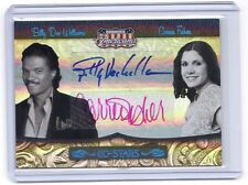 Americana Billy Dee Williams Carrie Fisher Leia autograph auto card 25 Star Wars