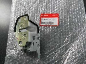 Genuine Honda CRV CR-V Left Driver Front Door Lock Latch 72150-S10-A21