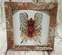 Angel wings Metal Cutting Dies Craft Stencil DIY Scrapbooking Album Embossing