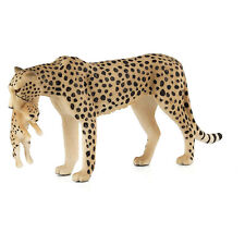 MOJO Cheetah Female With Cub Animal Figure 387167 NEW IN STOCK Toys